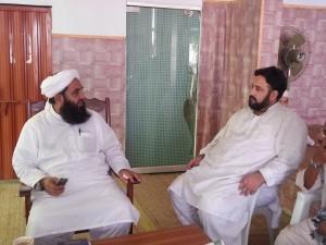 Shams ud Deen meets Molana Ilyas Ghuman